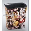 Supply plastic office trash can