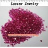 Supply Small Round Created Ruby/Synthetic Corundum 5#