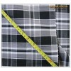 Black and White Checks Suit Fabric