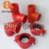 Supply UL/FM Ductile iron grooved pipe fittings