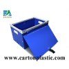 Corrugated Plastic Box With Lid