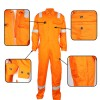 2 Flame-retardant Cotton Coverall With Pockets On The Chest