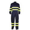 Offshore Anti-flame work coveralls with reflective tape