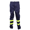 Men' s Industrial Flame-Retardant Trousers With Reflective Strips